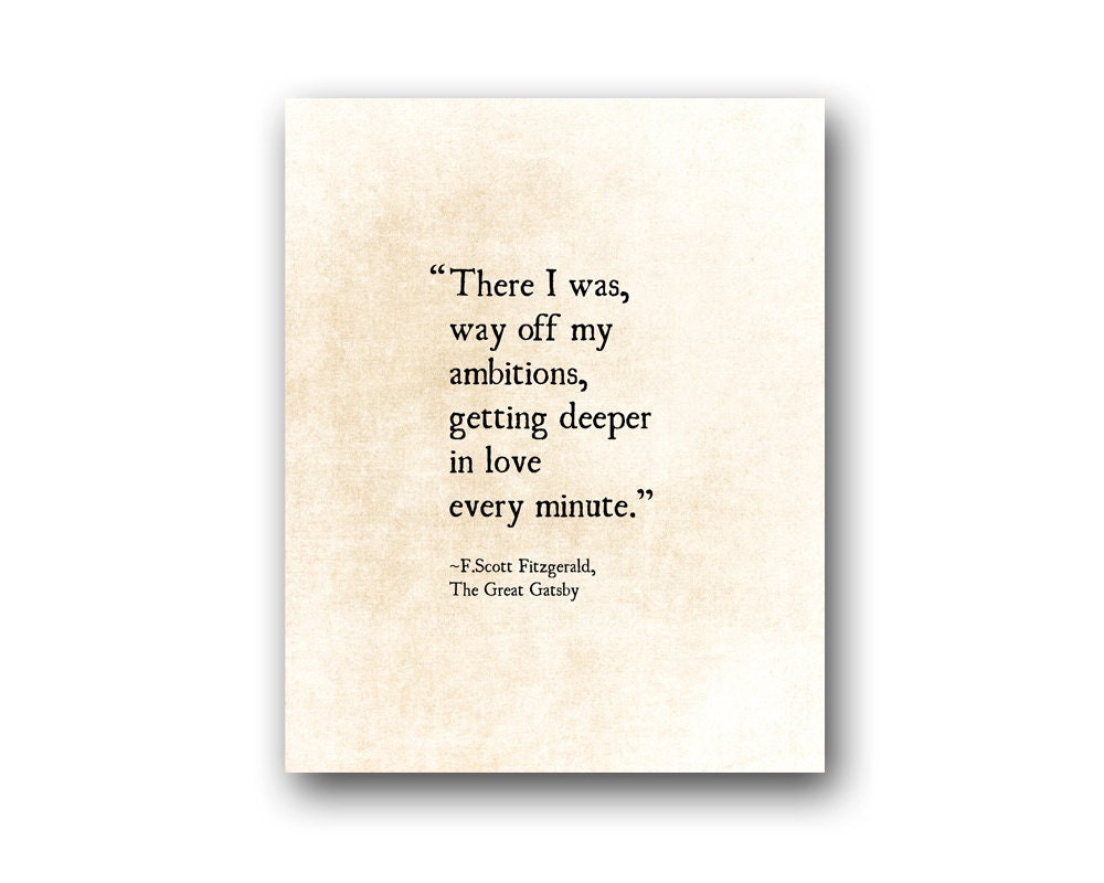 F Scott Fitzgerald Love Quote Fscott Fitzgerald Love Quote Getting Deeper In Love