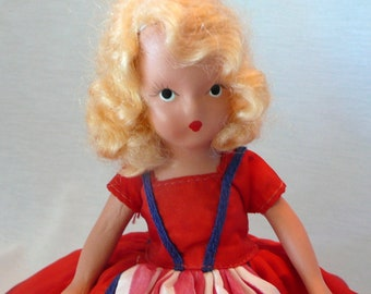 Nancy Ann Very Storybook Doll Independent Lady for July