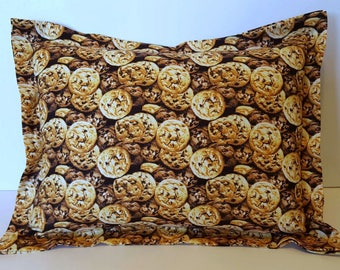 Chocolate Chip, Nap Pillow, Travel Pillow, Cookie Pillow, Bed Pillow, Daycare Pillow, Home Decor Pillow Birthday Gift, Toddler Pillow