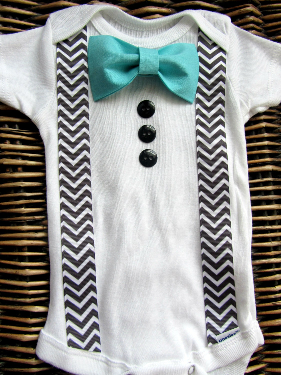Baby boy clothes baby bow tie infant tuxedo coming home for Baby shirt and bow tie