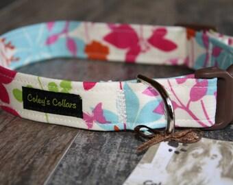 """Dog Collar """"The Enchanted Garden"""""""