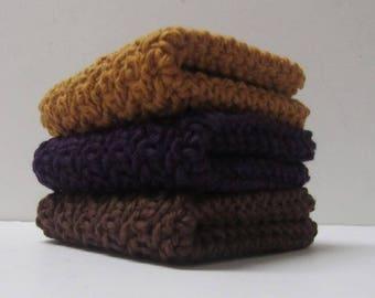 Crochet Cotton Dishcloths