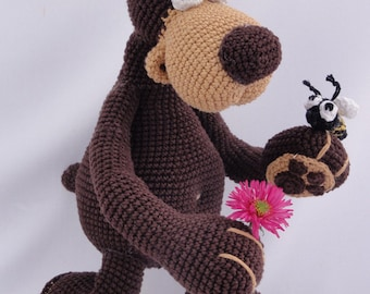 Amigurumi Crochet Pattern - Bernard the Bear - English Version