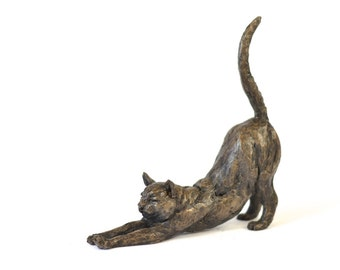 Stretching Cat, by Tanya Russell ARBS