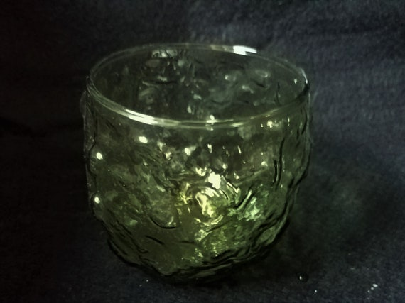 1970s Green Glass