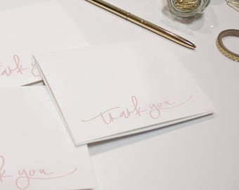 Thank You Cards (Set of 10), Blank Cards, Thank You Stationery