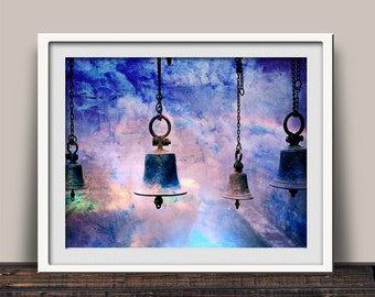 Liberty Bells - Let Freedom Ring - Art Print - Liberty - Pursuit of Happiness - Made in USA - Patriotic Gift - God Bless America - USA Made