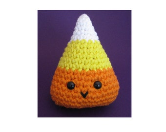 Amigurumi Crochet Pattern - Quick and Easy Cute Candy Corn