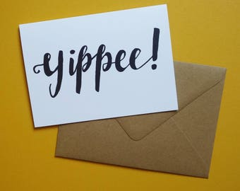 Yippee Greeting Cards