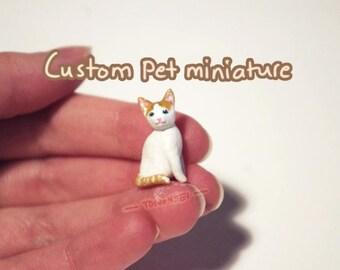 Custom Pet Miniature (Polymer Clay)