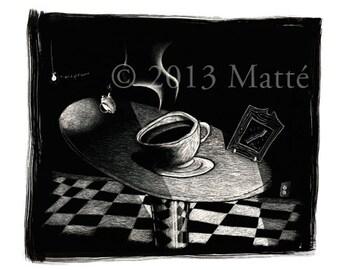 """12"""" X 18"""" Electrophotographic Print of 'Earl Greyer'"""