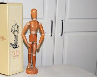 Wooden Artist's Model, Sale Price