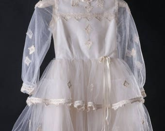 Vintage Flower Girl/ Communion Dress
