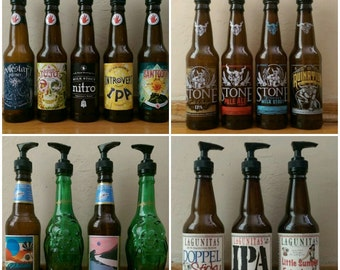 Craft Beer Soap Dispensers
