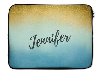 Customized waterproof laptop bag, Macbook sleeve, Personalized apple laptop case, Cool macbook sleeve cover, Lady boss customized gift