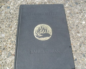 Vintage Book The Prophet by Kahlil Gibran
