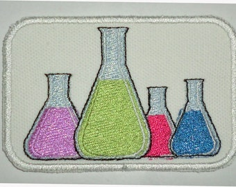 Iron-On Patch - BEAKERS