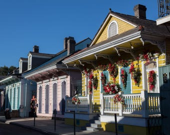Houses - New Orleans, Louisiana - Streets & Buildings - Digital Download