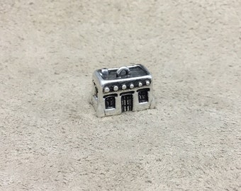 Sterling Silver Adobe House Charm