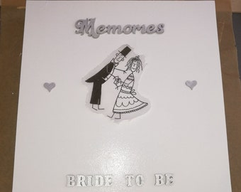Bride to be - box for loving memories