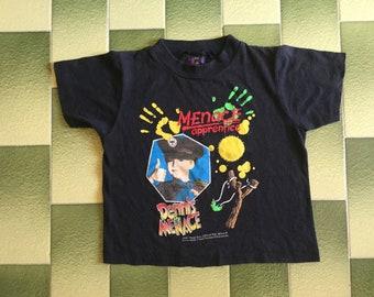 Vintage 1993 Dennis the menace t-shirt Kids Size M