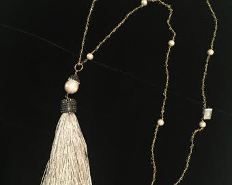 Pearls with Tassel
