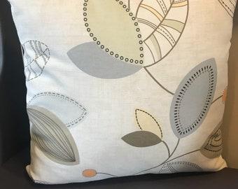 Flower Pillowcase 18x18