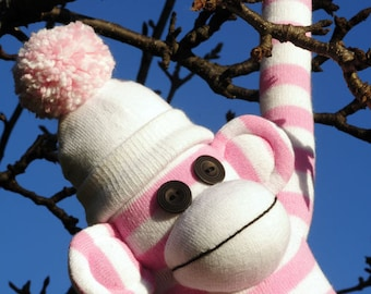 Minkee the Sock Monkey PDF Pattern