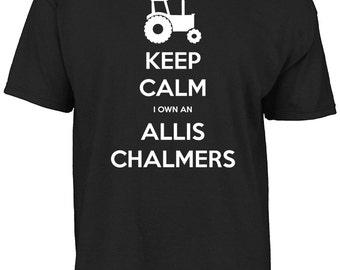 Keep calm I own an Allis Chalmers t-shirt.