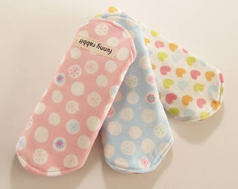 Cloth Pantyliners / Double Gauze Japanese Fabric - Set of 3 -  Eco-friendly