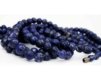 Lapis Lazuli Strand, Graduated Beads, M-2