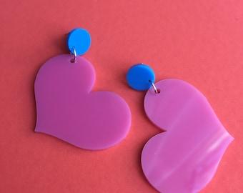 Chubby Heart Earrings