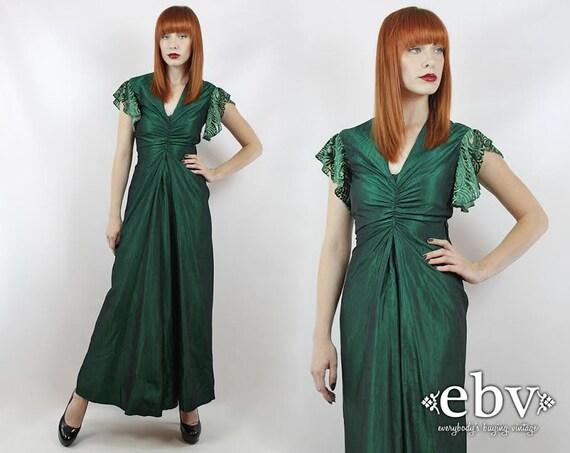 Emerald Green Dress Prom Dress Green Maxi Dress Evening Gown