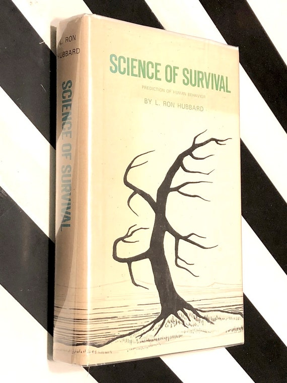 Science of Survival by L. Ron Hubbard (1951) hardcover book