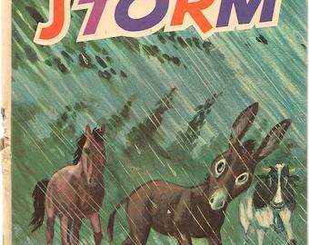 The Storm + 1973 + Vintage Kids Book