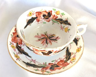 Vintage Royal Stafford Bone China Amari Style Tea Cup