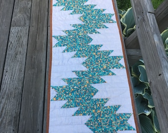 Southwest theme table runner