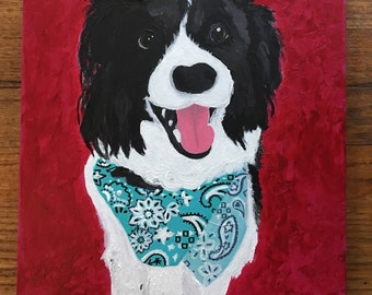 Dog Pet Portraits (Made to Order)