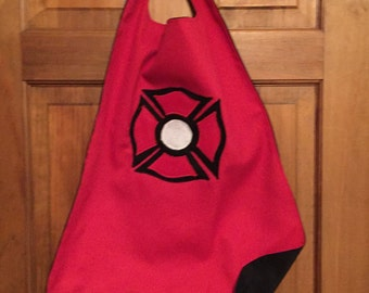 FIREMAN Superhero Cape/Costume