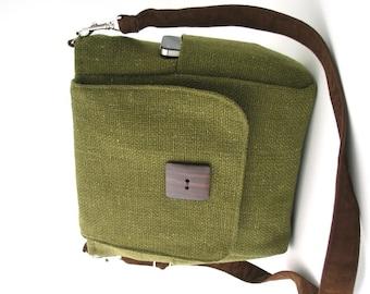 Handtasche, grüne Umhängetasche, Rucksack Damen Geldbörse Konvertiten, Umhängetasche, Schultertasche, Umhängetasche Tasche, Reißverschluss-Tasche, passend für Ipad