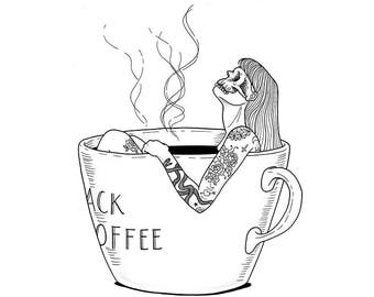 Dying for a coffee