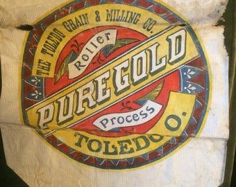 paper flour sack pure gold