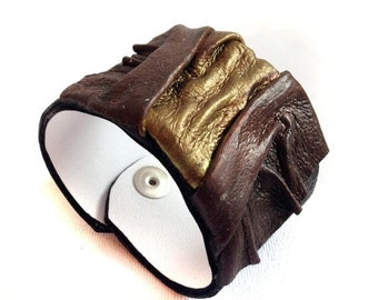 50% OFF SALE Rustic Leather bracelet Women cuff Leather jewelry Wristband Casual Elegance collection.