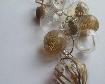 Glass Cascade Necklace