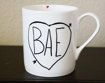 BAE Coffee Mug, Funny Coffee Mug, Gift for Boyfriend, Gift for Girlfriend, Birthday Gift for Best Friend, Best Friend Gift, BAE Gift