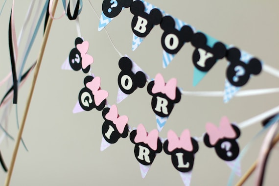 Baby Shower Decorations Baby Mickey Mouse Boy Baby Minnie