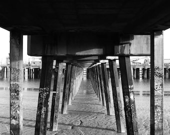 Pier Photo, Pier Print, Pier Photography, Pier, Coastal Photography, River Thames, Pier Art, Beach Pier Print, Coastal Photo, Sea Photo