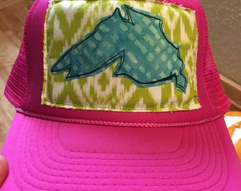 Pink Big Lake Trucker Hat