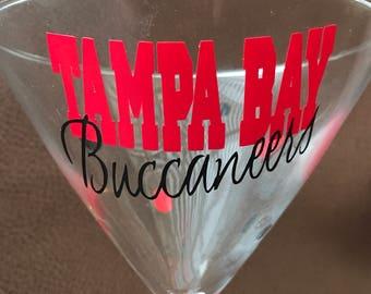 Tampa Bay Buccaneers Glassware, Sports, Glassware, Football, Fun Glassware