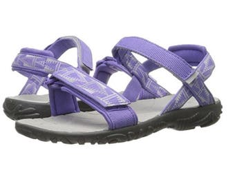 Teva Sandals, Teva Shoes, Nova Fashion, Purple Sandals, Flip Flop, Teva Purple Gray  (Size 7 US Big Kids)